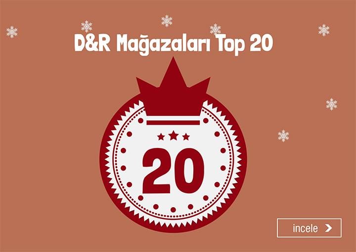 D&R Mağazaları Top 20