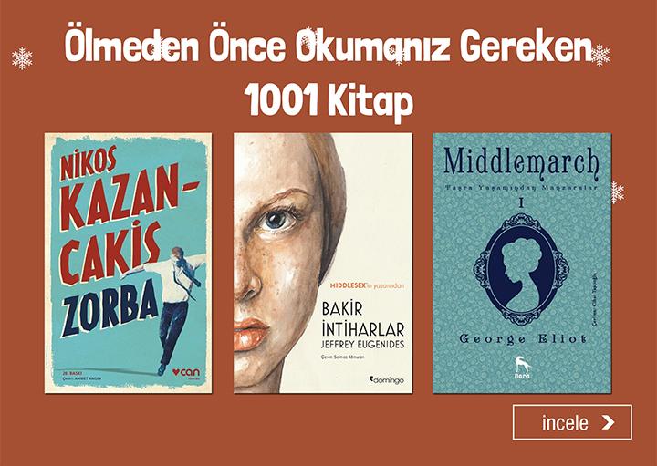 Ölmeden Önce Okumanız Gereken 1001 Kitap