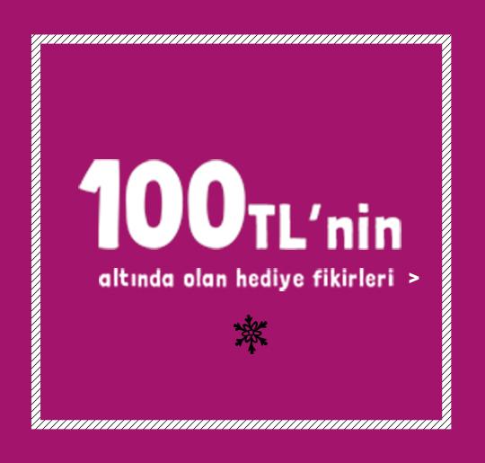 100 TL'nin altında olan hediye fikirleri >