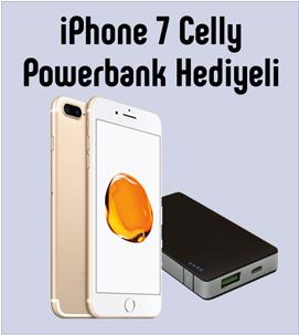 İphone 7 ve 7 plus Powerbank Hediyeli Kampanyası