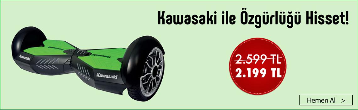 Kawasaki ile Özgürlüğünü Hisset