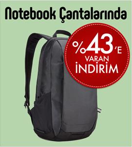 Ağustos Notebook Çantalarında Kampanya